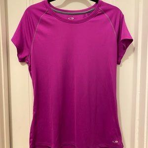 Fuchsia Size XL Semi-Fitted Performance T-Shirt